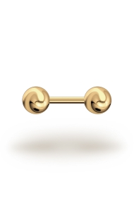 Elis Classic 2,0/8 Barbell, Yellow Gold