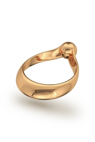 Adonis Ball Glans Ring, Gold