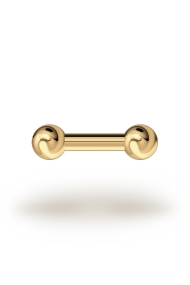 Elis Classic 3,0/6 Barbell, Yellow Gold