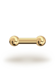 Elis Classic 3,5/6 Barbell, Yellow Gold