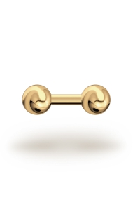 Elis Classic 3,5/10 Barbell, Yellow Gold