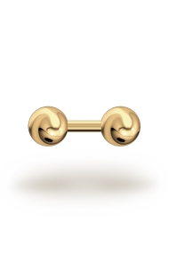 Elis Classic 3,5/12 Barbell, Yellow Gold