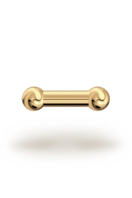 Elis Classic 4,0/6 Barbell, Yellow Gold