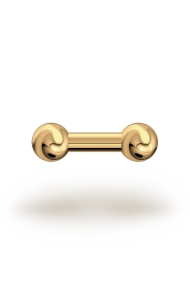 Elis Classic 4,0/8 Barbell, Gelbgold