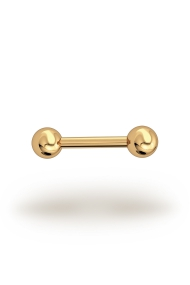 Elis Classic 1,8/5 Barbell, Yellow Gold