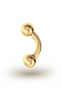 Ilia Classic 3,5/8 Bananabell, Yellow Gold