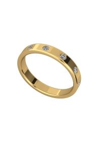 Morpheus Shine Penis Ring, Gold