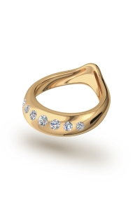 Adonis Shine Glans Ring, Gold