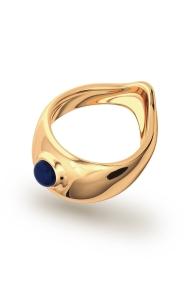 Adonis Lapis XL Eichelring, Gold