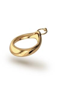 Adonis Pierce Glans Ring, Gold